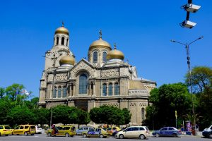 De kathedraal van Varna