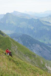 Bergflank van de Kanisfluh