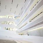 Hal van de Universiteit van Wenen ontworpen door Zaha Hadid