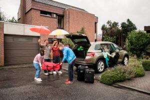 Gezinswagen voor gezin met 4 kinderen