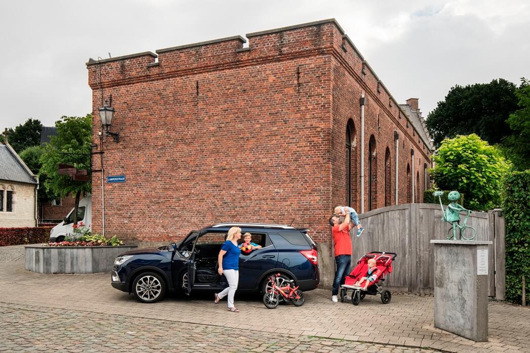 Gezinswagen voor gezin met 3 kinderen