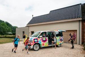 Gezinswagen voor gezin met 5 kinderen