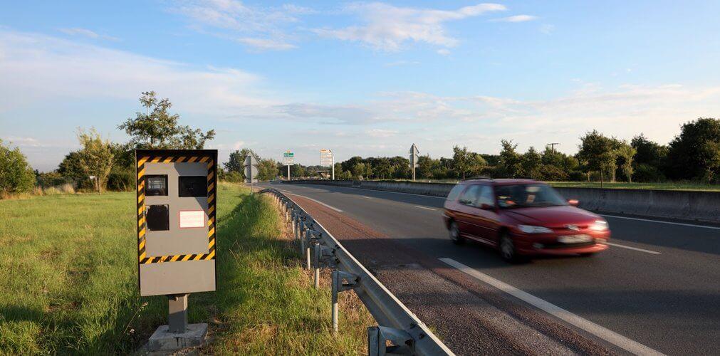 Meer boetes voor snelheid uit Frankrijk