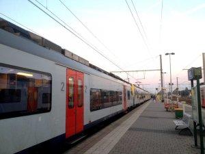 Vertraging met de trein