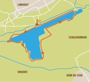 Wandelroute Limburg Schulensmeer kaart
