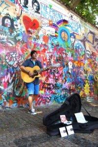 Praag Kampa John Lennon Wall