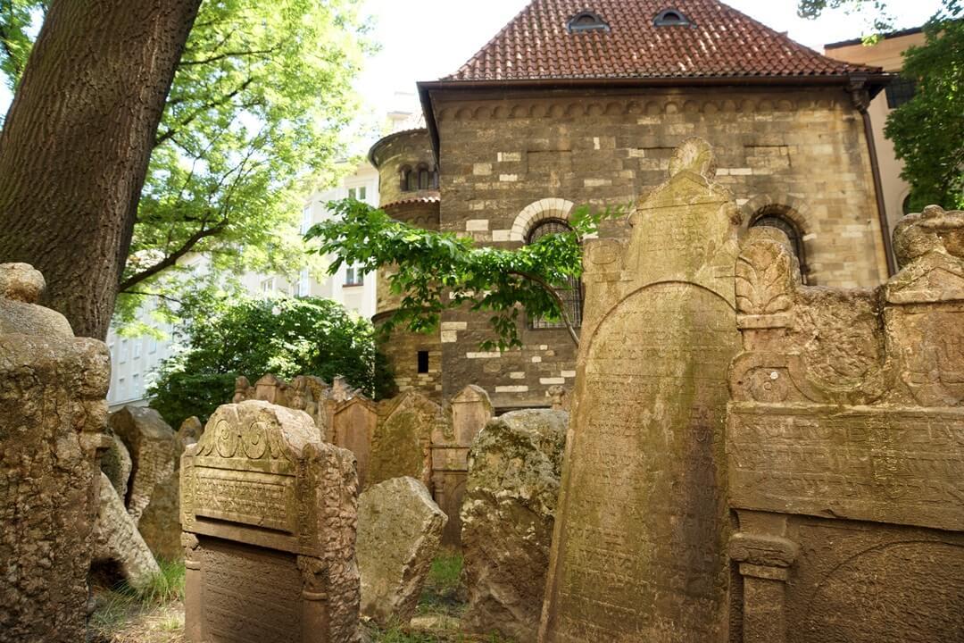 Praag Joods kerkhof