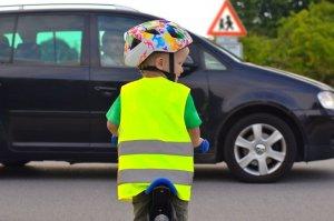 Kinderen veilig op de fiets