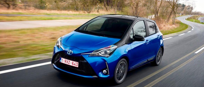 Toyota Yaris laag