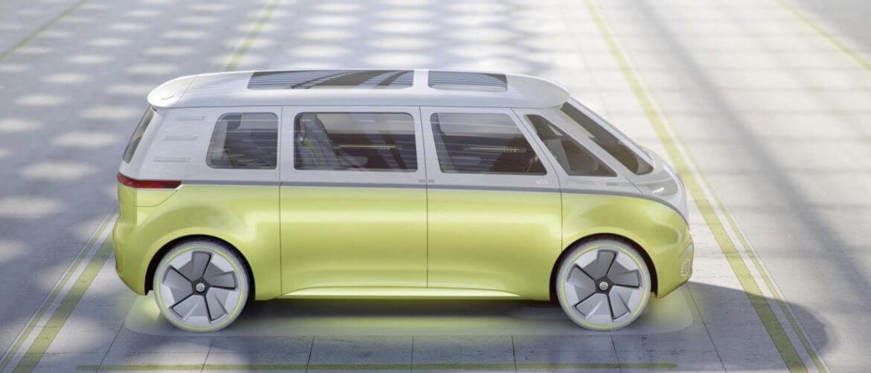 Elektrische Volkswagen I.D. Buzz