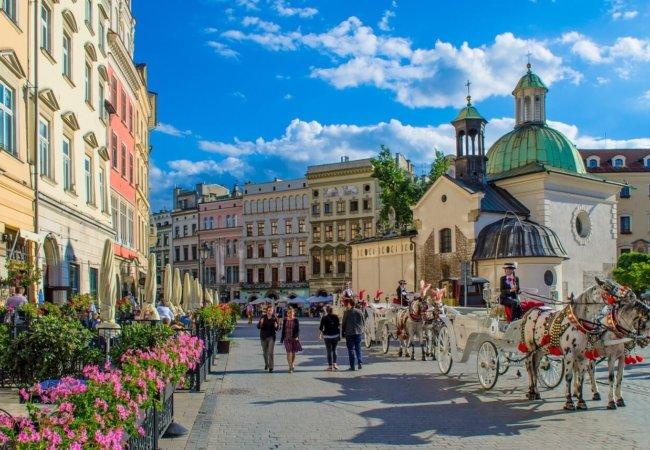 Grote Markt Krakau