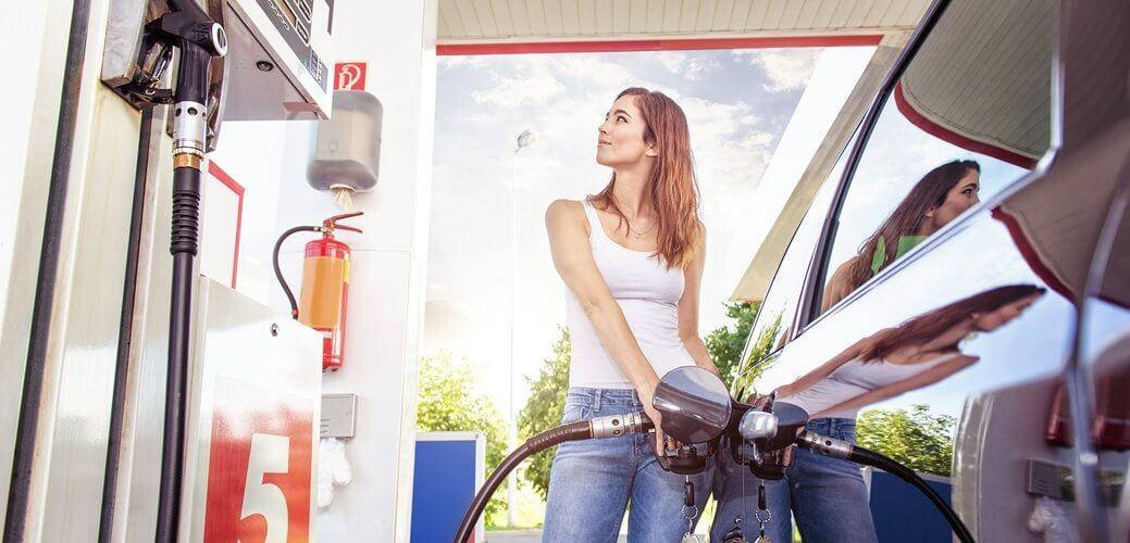 Benzinewagens worden steeds zuiniger