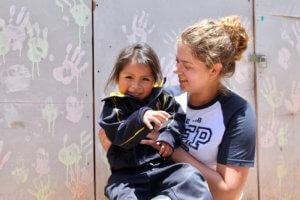 Vrijwilligerswerk in het buitenland