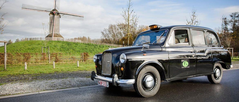 Austin London black cab