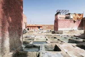 Tanneries Marrakech