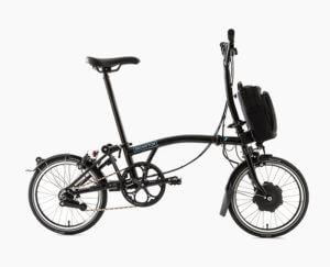 Brompton pendelen elektrische fiets