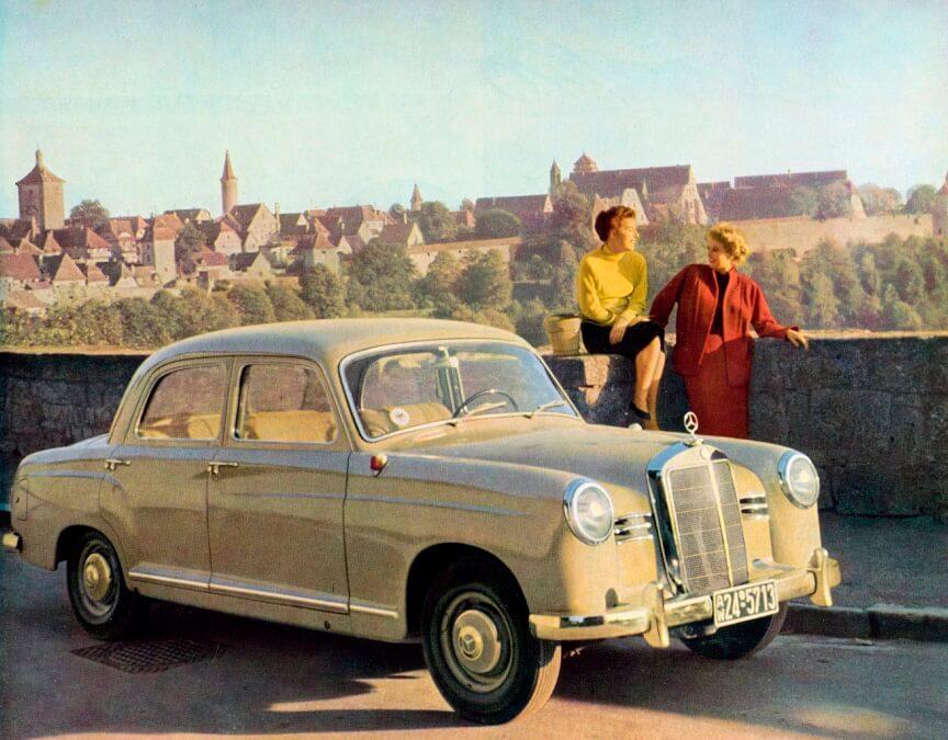 Mercedes Typ 180 Ponton
