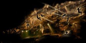Wat te doen in juli: Lichtspektakel in de Grotten van Han