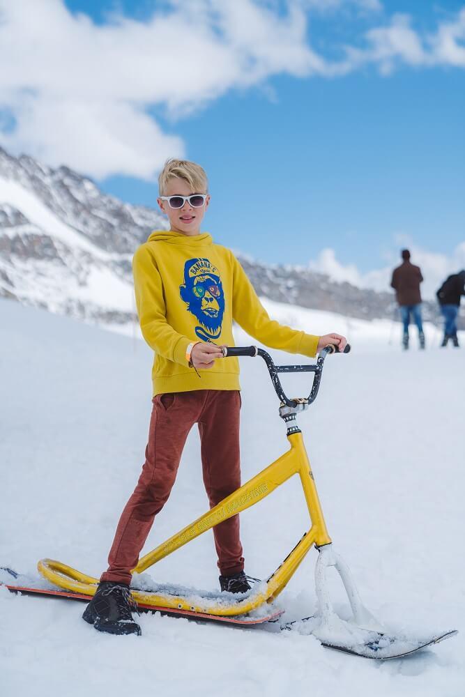 Actieve gezinsvakantie in de Zwitserse Alpen