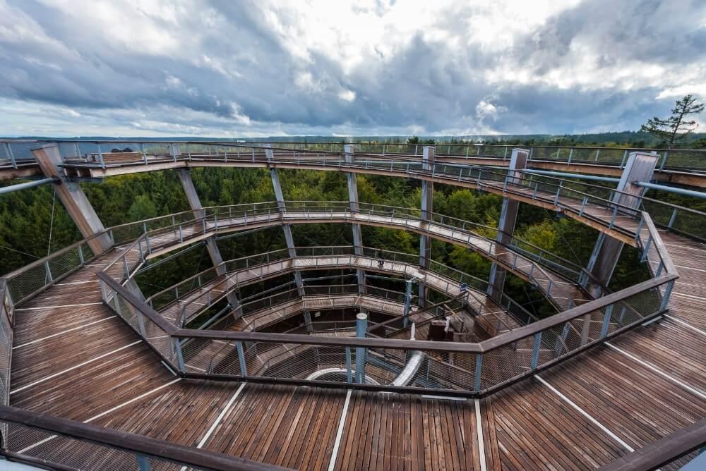 Zwarte Woud: Baumwipfelpfad in Bad Wildbad