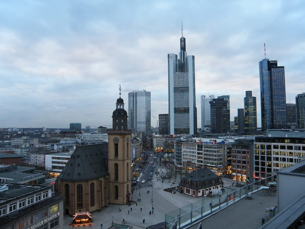 Dieselverbod in Stuttgart en Frankfurt in Duitsland