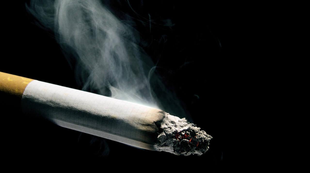 roken in de auto