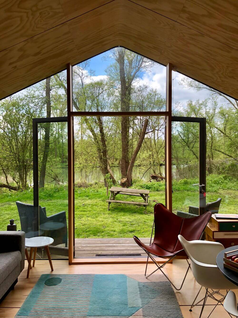 Bijzonder logeren Wikkelhouse Dordrecht Nationaal Park De Biesbosch kano
