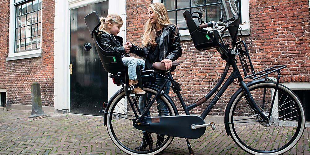 Kinderzitje op elektrische fiets