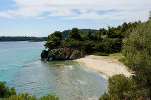 baai tussen Azapkio en Toroni
