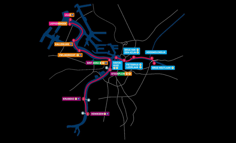 Plan DeWaterbus