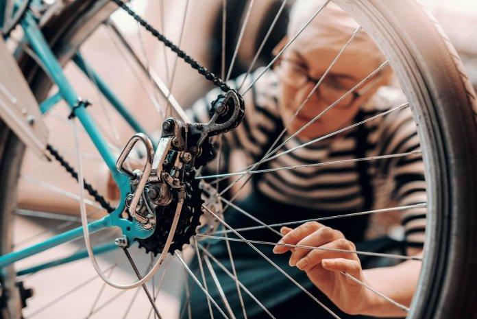 Zo moet je je fiets onderhouden ©iStock