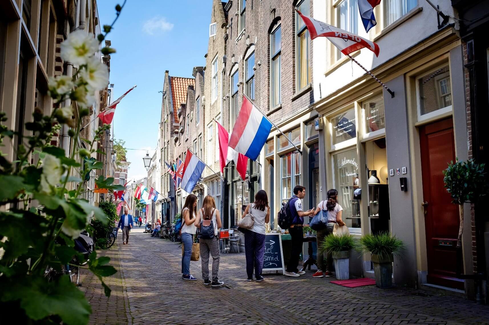Het Groothoofd in Dordrecht