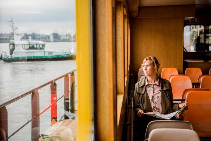 Met de Waterbus naar Antwerpen tijdens de Week van de Mobiliteit © Wim Kempenaers