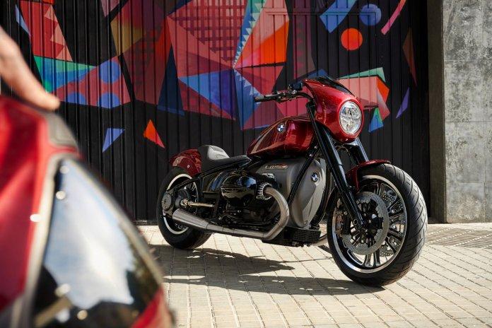 Autosalon BMW R1800/2 concept-bike