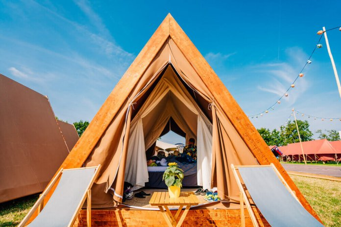 kamperen pop-up campings