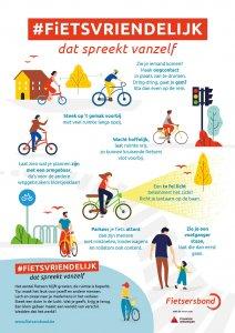 fietsvriendelijke fietser