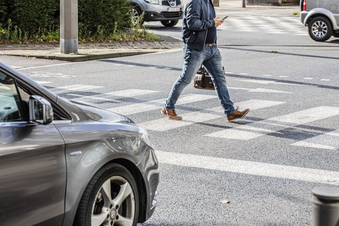 voetganger zebrapad Vlaamse mobiliteitsvisie 2040