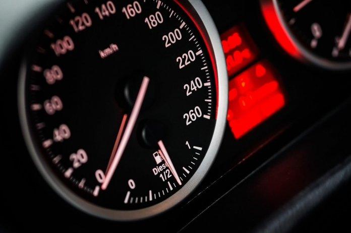 snel rijden snelheid