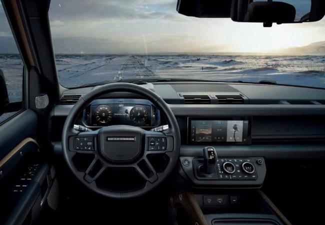 Land Rover Defender interieur
