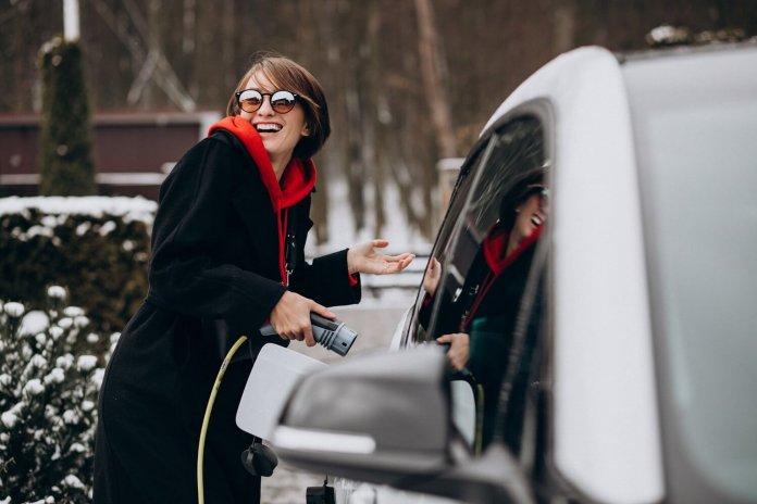 elektrisch rijden bij koud weer