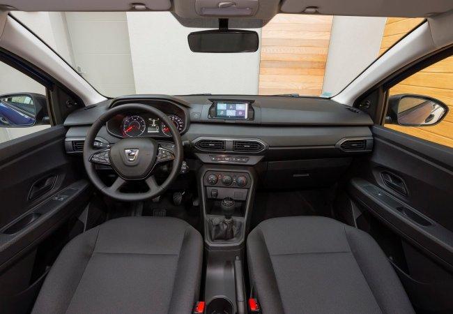 Dacia Sandero interieur