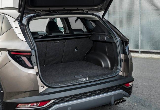Hyundai Tucson koffer