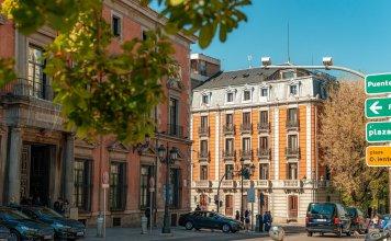 bebouwde kom in Spanje Madrid