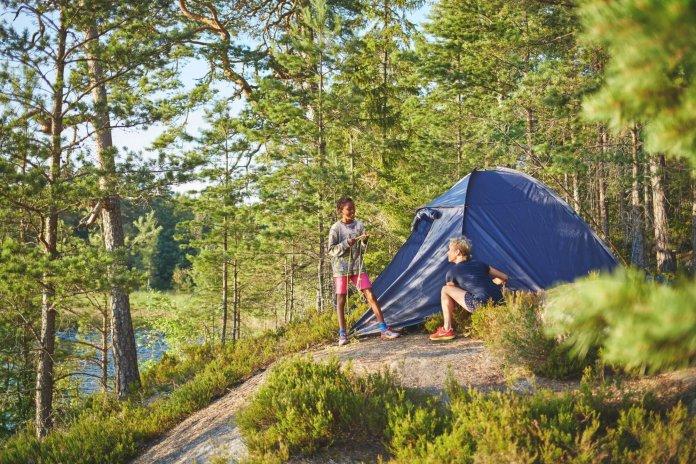 Wildkamperen in Scandinavië