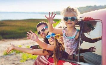 autovakantie gezin
