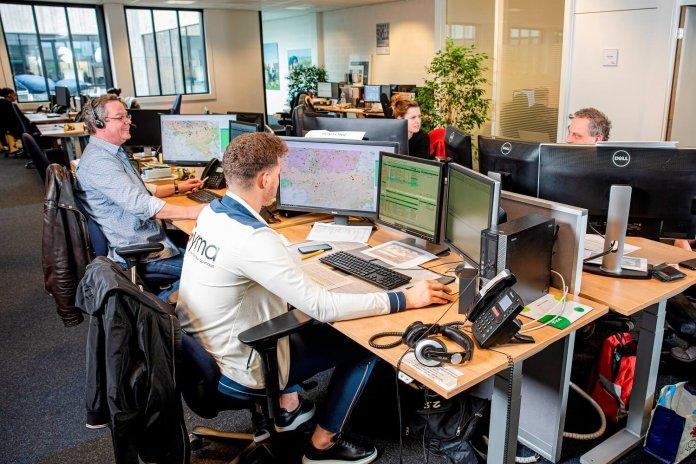 VAB-Alarmcentrale watersnood