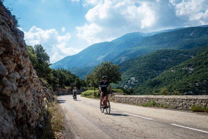 Vaucluse fiets Mont Ventoux