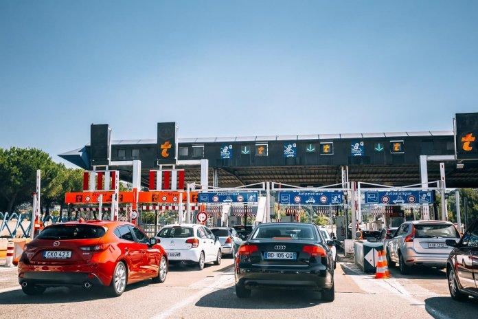 Frankrijk péage snelweg zwarte weekends Nice