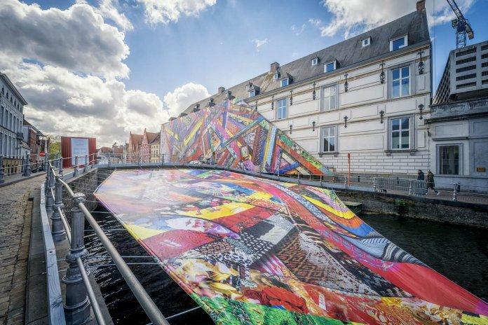 kunst in openlucht Triënnale Brugge